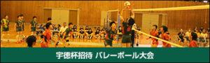 宇徳杯招待 バレーボール大会